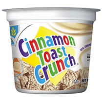 Cinnamon Toast Crunch Cereal in a cup - 2 oz. Cup - 12 ct. sku9124212