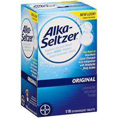 Alka-Seltzer Original Antacid and Analgesic - 116 ct.