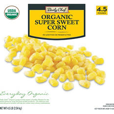 Daily Chef Organic Super Sweet Cut Corn (4.5 lb.)