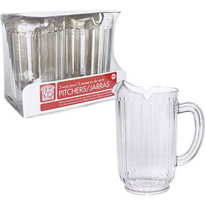 Bakers & Chefs 3-Way Pour Pitchers - 2 pk.
