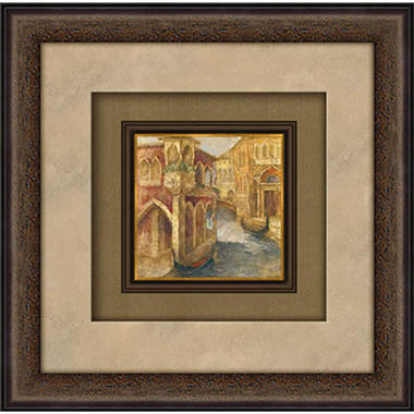 Custom Framed Artwork - Memories of Venice I