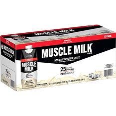 Muscle Milk Protein Shake, Vanilla Creme (11 oz., 12 ct.)