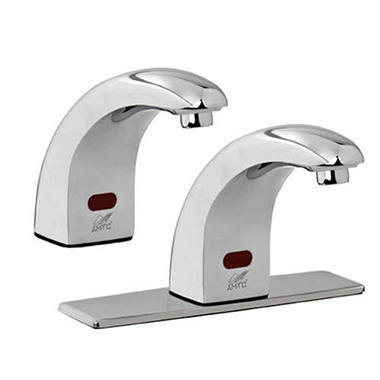 "Touch-Free Faucet with 8"" Cover Plate"
