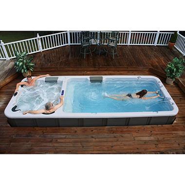Ultimate Dual-Temperature Stereo Swim Spa