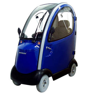 Shoprider Flagship Scooter with Cab - Various Colors
