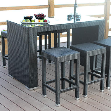 Moderno High Dining Set - 7 pc.