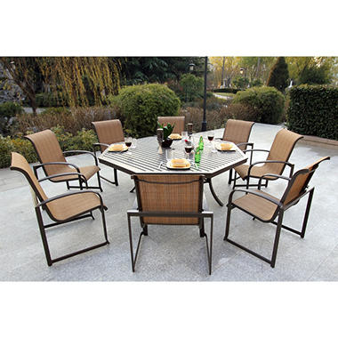 Lancaster Dining Set 9 pc.