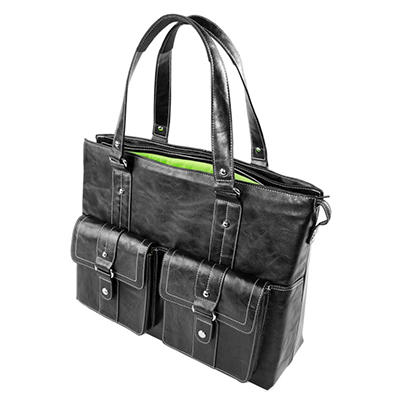 WIB - Women In Business Nairobi Briefcase/Notebook Case - Black