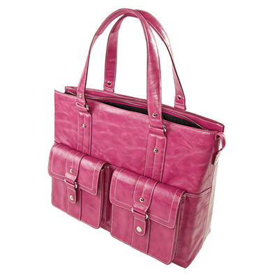 WIB - Women In Business Nairobi Briefcase/Notebook Case - Raspberry