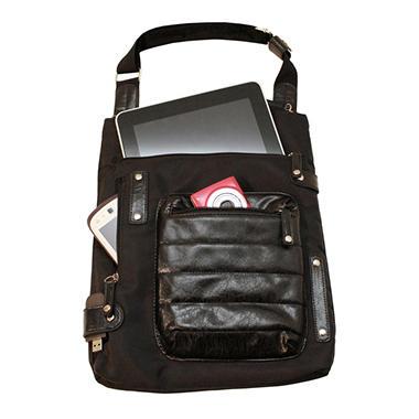 WIB - Women In Business NY City Slim Bag - Black
