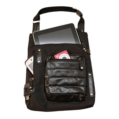 WIB - Women In Business NY City Slim Bag - Black