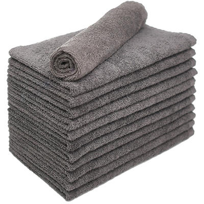 Bleachsafe® Salon Hand Towels - 24 pk. - Gray