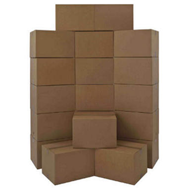 North American Medium Moving Boxes - 20 pk.