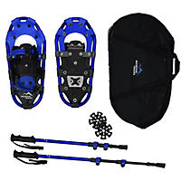 "Mountain Tracks Pro Series 16.5"" Youth Snowshoe Set, Blue"