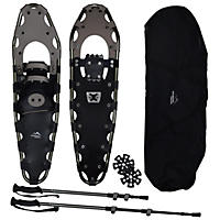 "Mountain Tracks Pro Series 36"" Snowshoe Set, Gray"