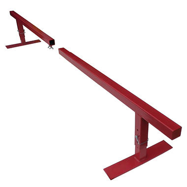 Skate & BMX - Split - Square - Skate / Grind Rail - Red