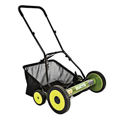 "Sun Joe Mow Joe 20"" Manual Reel Mower with Grass Catcher"