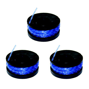 Sun Joe Trimmer Joe TRJ601R3 Replacement Trimmer Spools – 3 Pk.