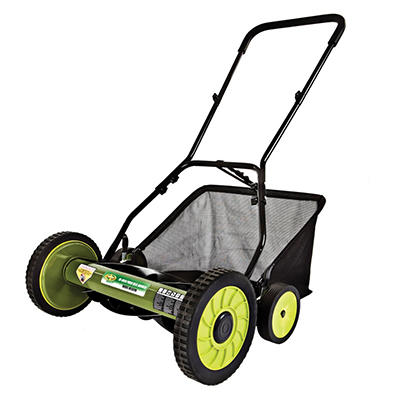 "Sun Joe Mow Joe 18"" Manual Reel Mower with Grass Catcher – MJ501M"