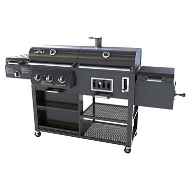 Smoke Hollow Combination Grill - Gas, Charcoal & Smoker