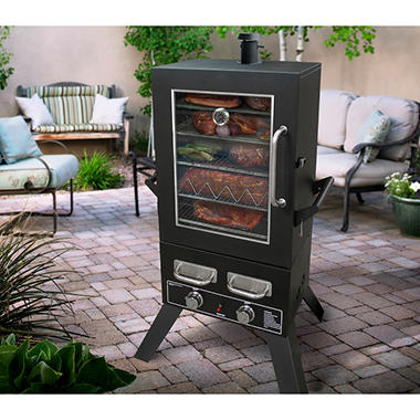 Smoke Hollow Pro Series 44 Quot Lp Gas Smoker Sam S Club