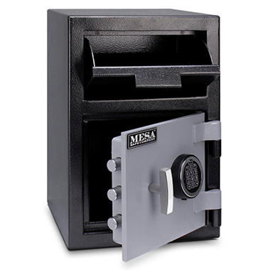 Mesa - All Steel Depository Safe - 0.8 Cubic Feet - Choose Delivery Method