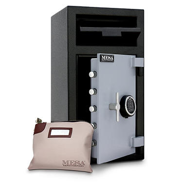 Mesa - Safe All Steel Depository Safe - 1.4 Cubic Feet