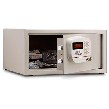 Mesa - Safe All Steel Residential & Hotel Safe - 1.2 Cubic Feet