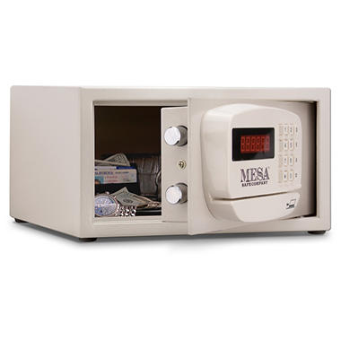 Mesa - Safe All Steel Residential & Hotel Safe - 0.4 Cubic Feet