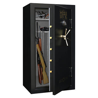 Mesa Safe All Steel MBF6032E 13.9 cu. ft. Capacity 30 Gun Burglary & Fire Safe with a High Security Electronic Lock