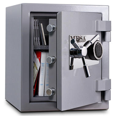 Mesa Safe All Steel High Security Burglary &  Fire Safe - 1.3 Cubic Feet
