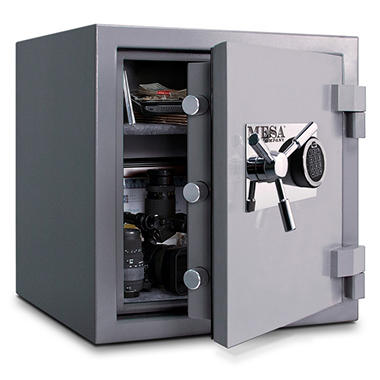 Mesa Safe All Steel High Security Burglary &  Fire Safe - 2.4 Cubic Feet