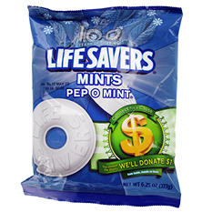Lifesavers Pep-O-Mint Candy 6.25 oz. Bag (12 ct.)
