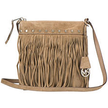Women's Billy Suede Fringe Messenger bag by Michael Kors