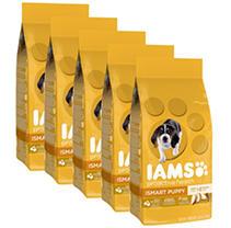 IAMS Puppy Proactive Health Smart Puppy Chicken Dry Dog Food (3.3 lb, 5 pk.)