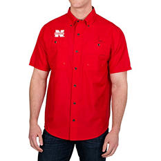 NCAA Fishing Shirt - Nebraska Cornhuskers