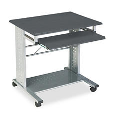 Mayline Eastwinds Empire Mobile PC Cart, Anthracite