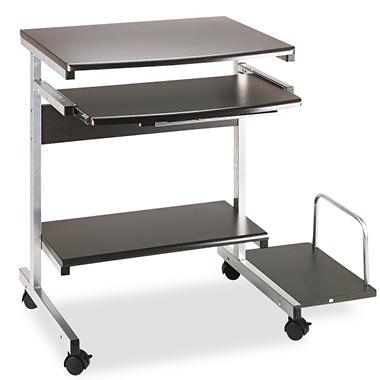 Tiffany Portrait PC Desk Carts