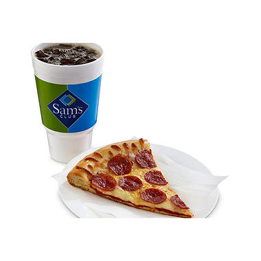Hot, Fresh Pizza Slice/Drink Combo
