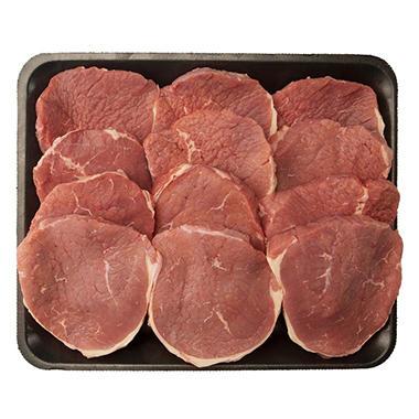 USDA Choice Angus Beef Eye of Round Steak (Priced Per Pound)