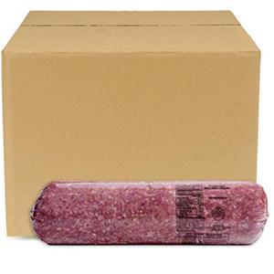 Case Sale: 90/10 Lean Ground Beef, Find Grind (8 tubes per case)