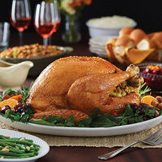 Daily Chef Whole Tom Turkey (approx. 16-22 lbs., Priced Per Pound)