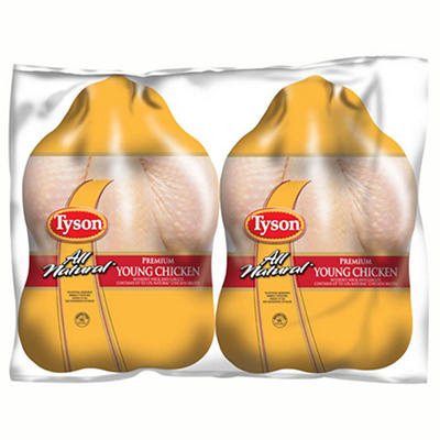 Tyson Whole Chicken - Twin Pack