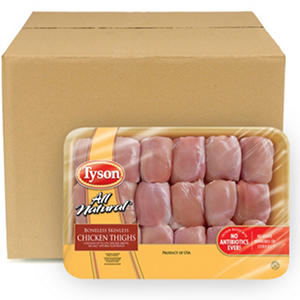 Case Sale: Chicken Boneless Skinless Thighs (18 pc./8 ct.)