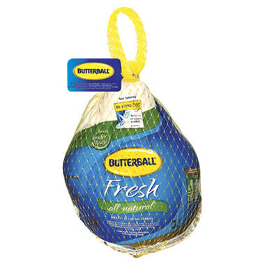 Case Sale: Butterball Fresh All Natural Hen Turkey (approx. 10-16 lb. ea., 4 ct.)