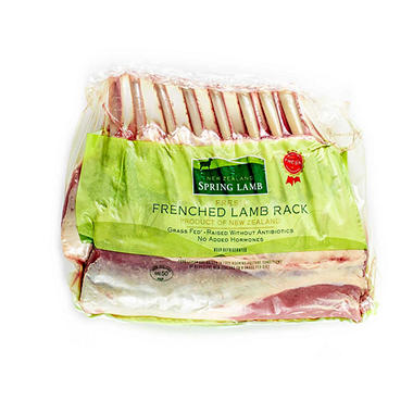New Zealand Frenched Lamb Rack - 1 lb.