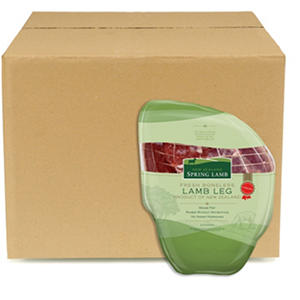 Case Sale: Fresh New Zealand Boneless Leg of Lamb (7 legs per case)
