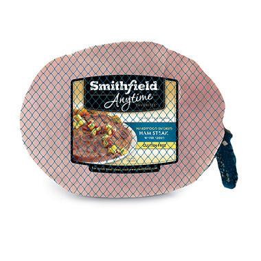 Smithfield® Center Cut Hardwood Smoked Ham Steak  - 4 pk.