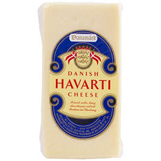 Danamark Danish Havarti Cheese (Priced Per Pound)