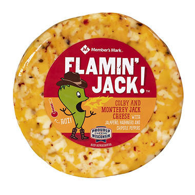 Great Midwest 3-Alarm Jack Cheese (Priced Per Pound)